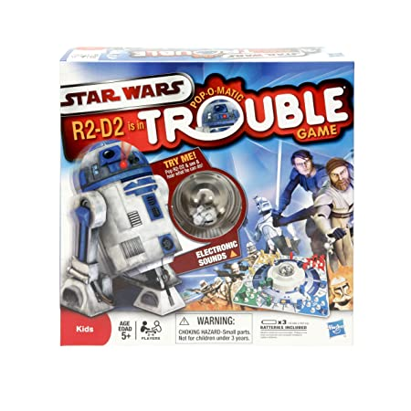 Star Wars – Pop-O-Matic Trouble – Jeu de Société Version Anglaise (Import Royaume-Uni)