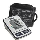 Drive Medical Economy Upper Arm Blood Pressure Monitor, White (Color: White)