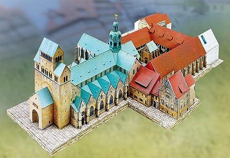 Maquette en carton : Cathédrale Sainte-Marie de Hildesheim