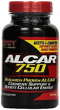 San Alcar 750 L-Carnitine 100 Tabletten, 1er Pack (1 x 75 g)