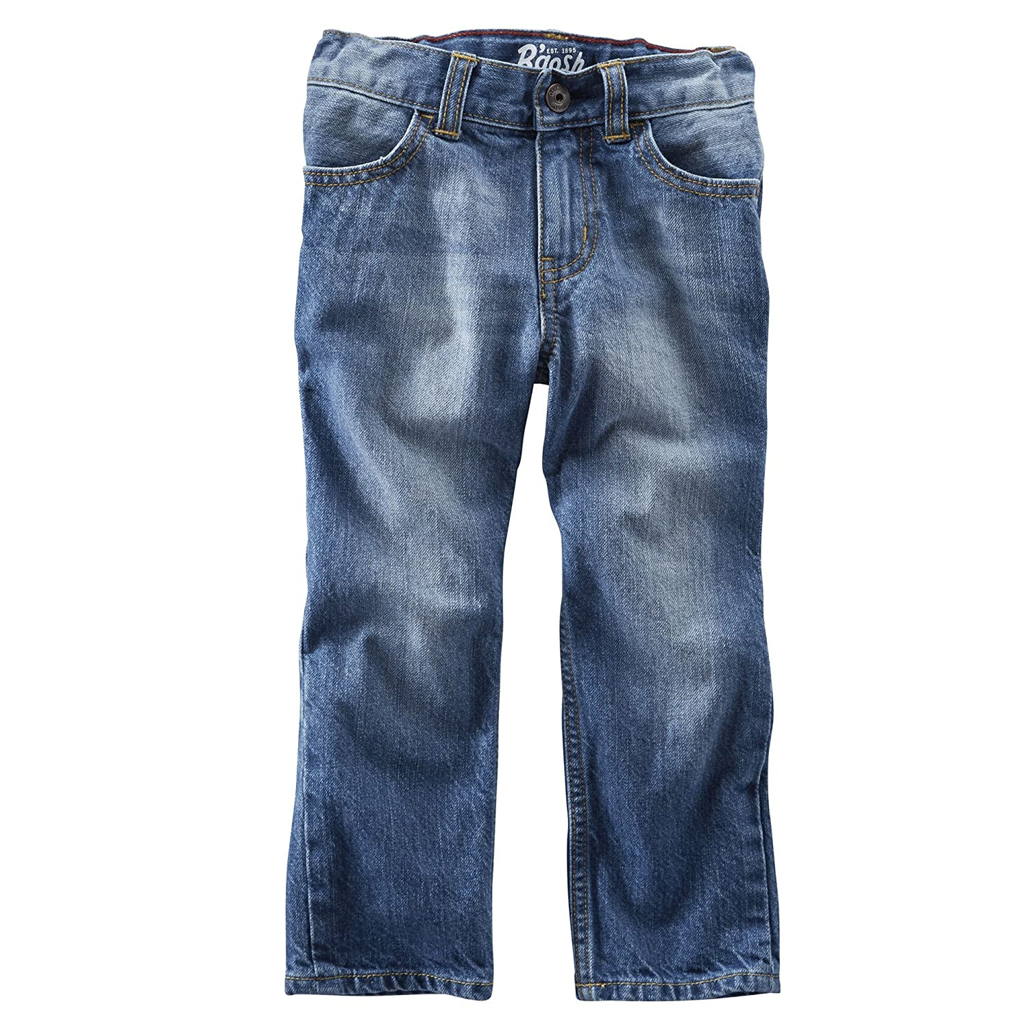 OshKosh B'Gosh Little Boys' Straight Jeans-Mellow Medium Wash (3T)