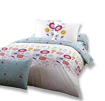 dodo ac97763200 parure housse housse de couette 240 x 220 cm cm 2 taies 65 x 65 cm coton. Black Bedroom Furniture Sets. Home Design Ideas