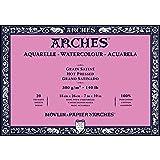 Arches Watercolor Paper Block, Hot Press, 7