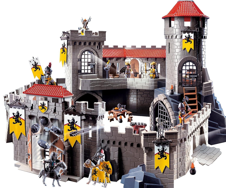 Playmobil 4865 zamek rycerski herbu lwa 4062949769 for 4865 playmobil