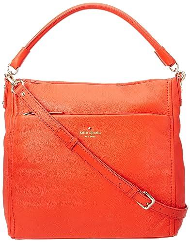 kate spade new york Cobble Hill-Curtis Shoulder Bag 凯特丝蓓 女士单肩包 限橘色-奢品汇 | 海淘手表 | 腕表资讯