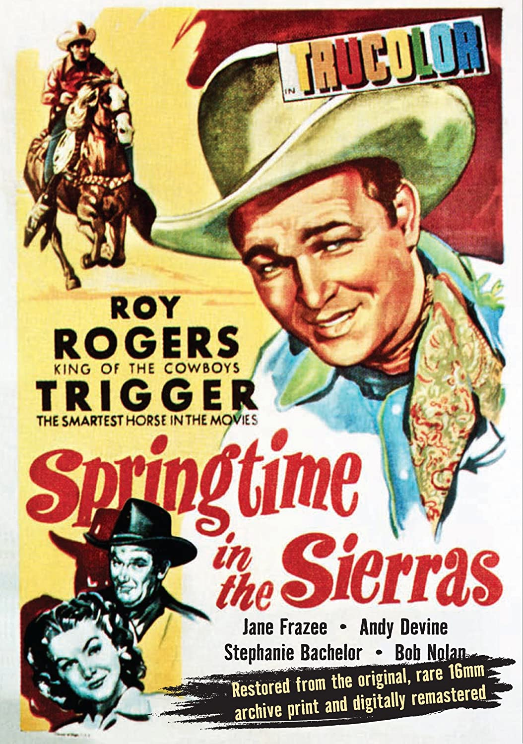 Roy Rogers in Springtime in the Sierras Cover