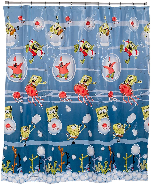 Under the sea peva shower curtain blue walmart com - Shower Curtains 10 Cute Kids Shower Curtains
