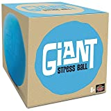 Giant Stress Ball - Huge Squishy Anxiety Reliever - Super Soft 6 Inch Stretch Ball (Color: Blue, Tamaño: 6 inch)