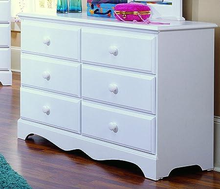 Carolina Cottage 6 Drawer Dresser