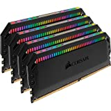 Corsair Dominator Platinum RGB 64GB (4x16GB) DDR4 3600 (PC4-28800) C18 1.35V Desktop Memory (Color: RGB, Tamaño: 64GB (4x16GB))