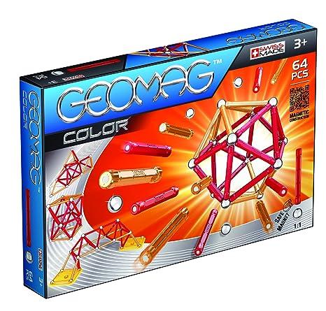 Geomag - 253 - Jeu de Construction - Color -  64 Pièces