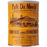 Cafe Du Monde Coffee Chicory, 15 Ounce Ground (Color: Coffee, Tamaño: 15 Ounce (Pack of 1))