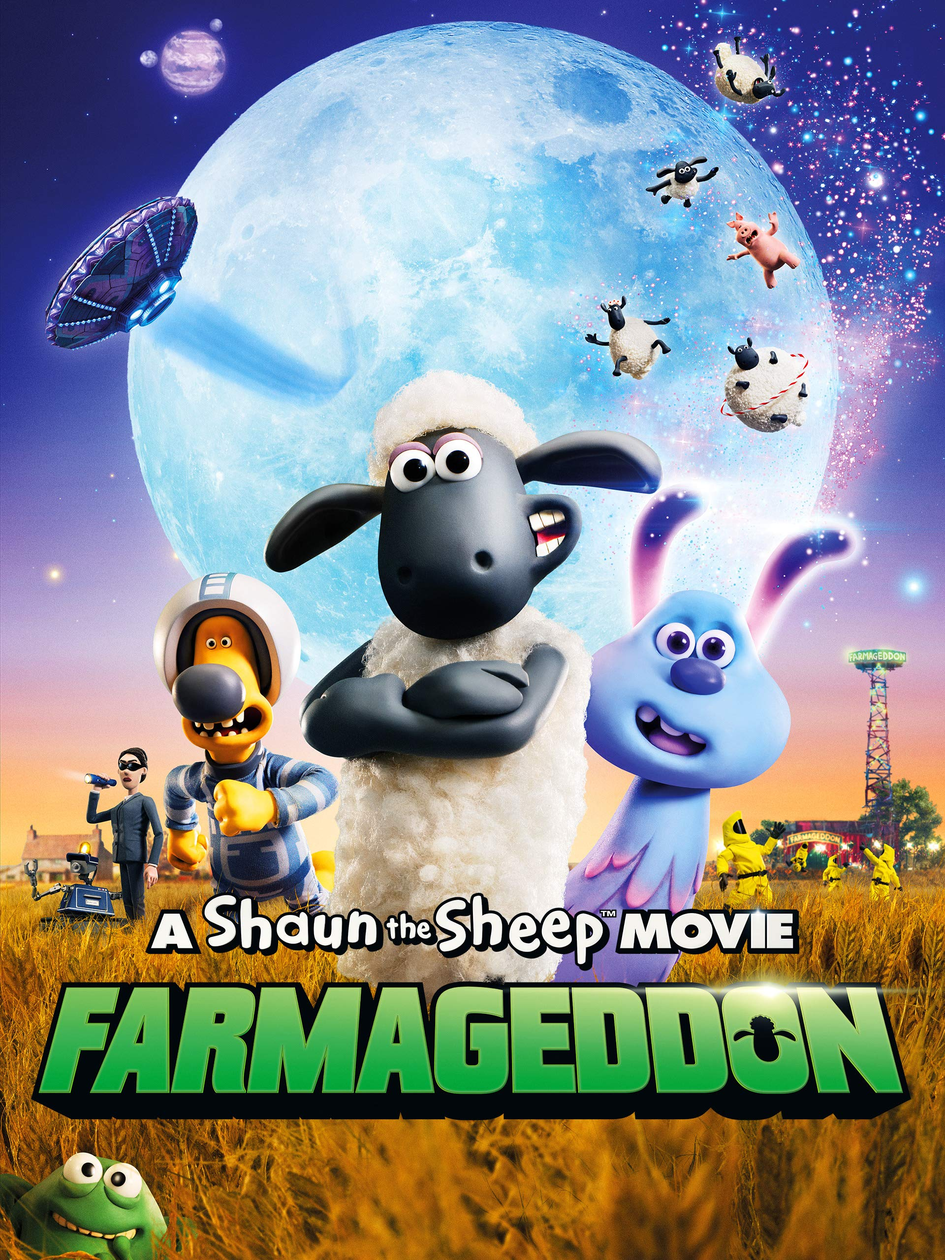 A Shaun The Sheep Movie: Farmageddon (4K UHD)