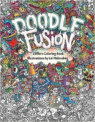 Doodle Fusion Zifflins Coloring Book Volume 2 Pdf