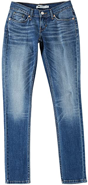 Levi's Women's 524 Skinny Jean, Fade Into Blue, 28/7 Medium