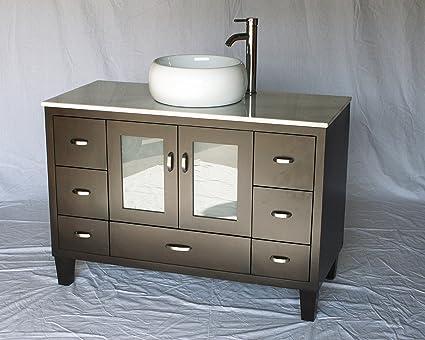 46-Inch Contemporary Style Single Sink Bathroom Vanity Model 2292