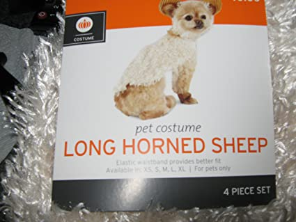 Sheep Pets Japan Long Horned Sheep Pet Costume