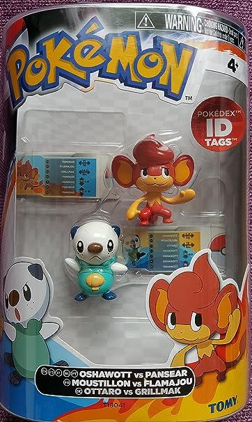 Pokemon - Pack 2 Mini Figurines Polarhume vs Emolga