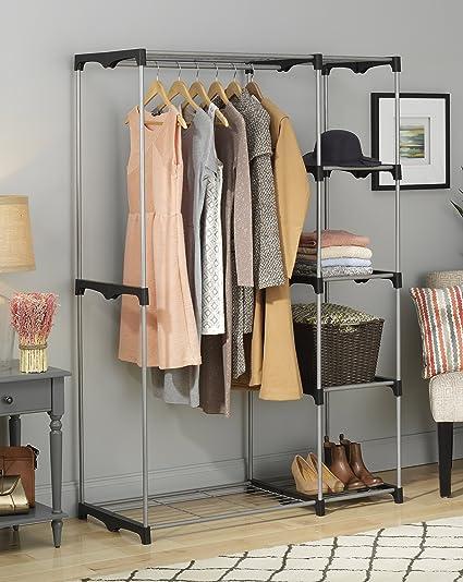 livingquarters double rod freestanding closet 2