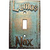 Lumos/Nox Light Switch Cover (Custom) (Aged Patina) (Color: Aged Patina)