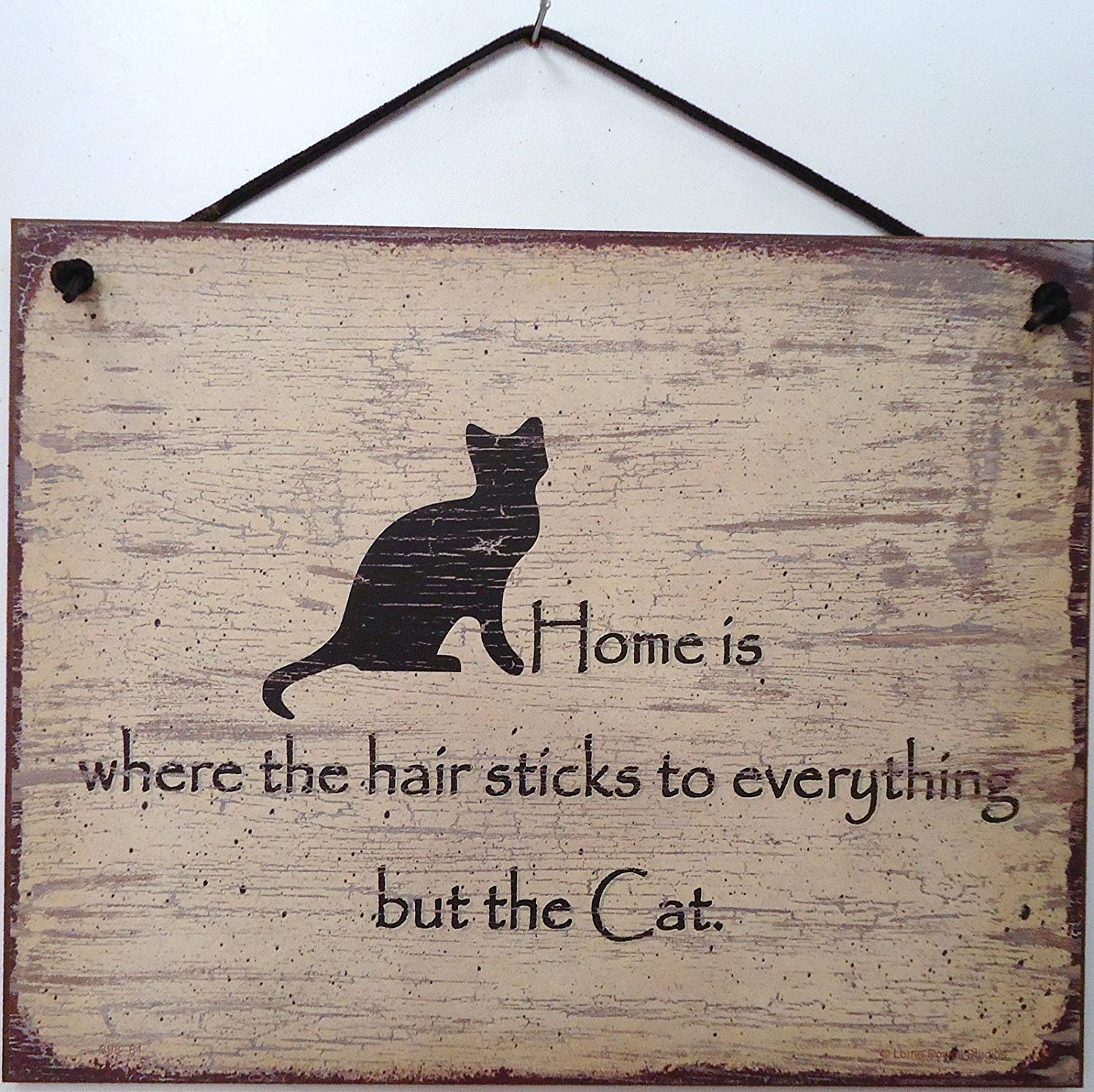 cat hair sign