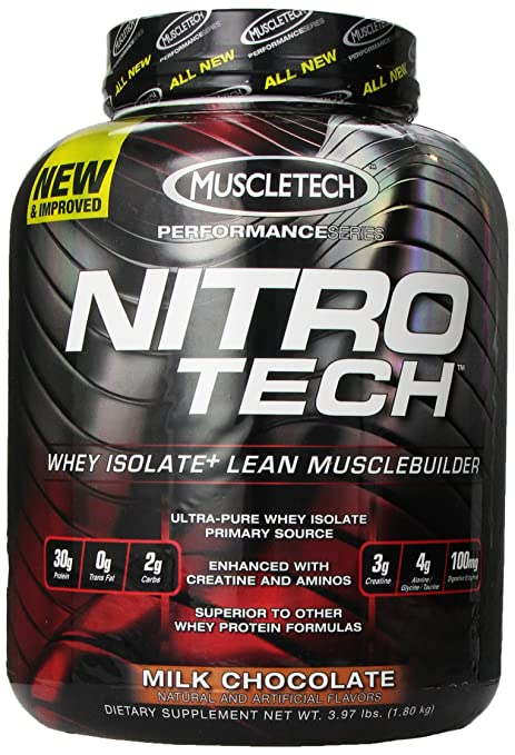 Muscletech Nitrotech Performance Series Milk Chocolate, 3.97 Pounds