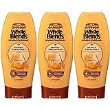 Garnier Hair Care Whole Blends Repairing Conditioner Honey Treasures for Damaged Hair, 22 Fl Oz (3 Count) (Color: Honey Treasures Shampoo, Tamaño: 22 Fl Oz)