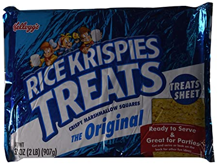 Short article about rice krispie treat