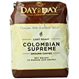 Day to Day Ground Coffee, Colombian Supreme, 33 Ounce (Tamaño: 33 Ounce)