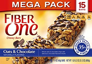 2-Pack Fiber One Chewy Bars