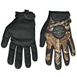 Klein Tools 40208 Journeyman Camouflage Gloves, Medium (Color: Camouflage, Tamaño: Medium)