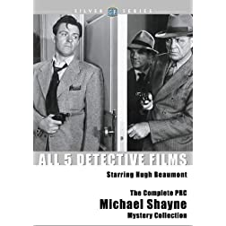 The Complete PRC Michael Shayne Mystery Collection Classicflix Silver Series