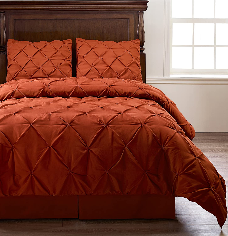 Beautiful orange bedding - Red and orange comforter sets ...