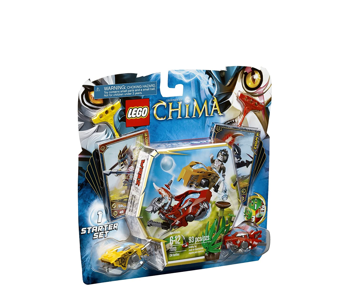 Amazon.com: LEGO Chima CHI Battles 70113: Toys & Games