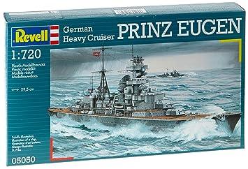 Revell - 5050 - Maquette de Bateau - Croiseur Prince Eugen
