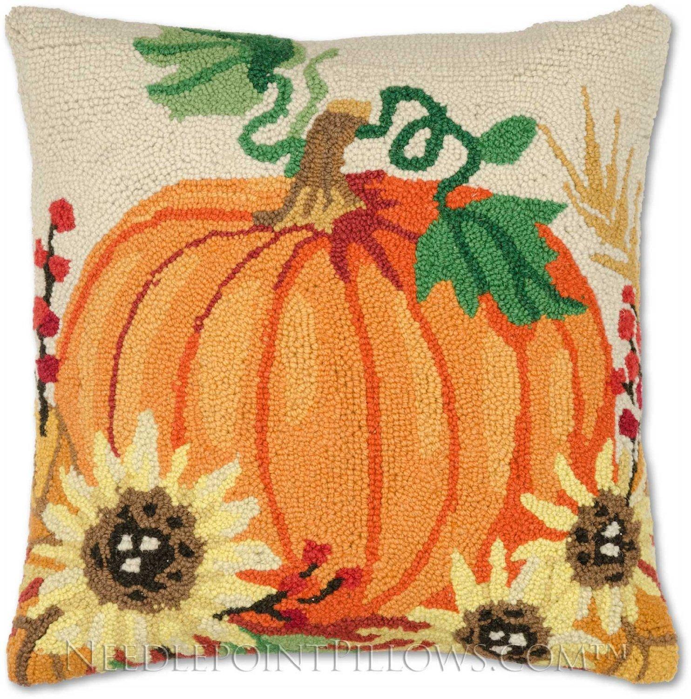 Decorative Pillows For Fall : Thanksgiving Pumpkin Throw Pillows Thanksgiving Wikii