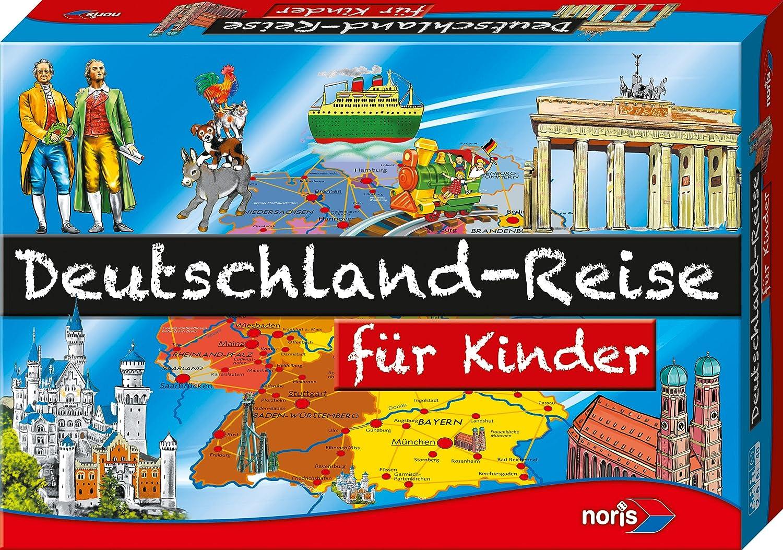 Deutschlandreise game layout
