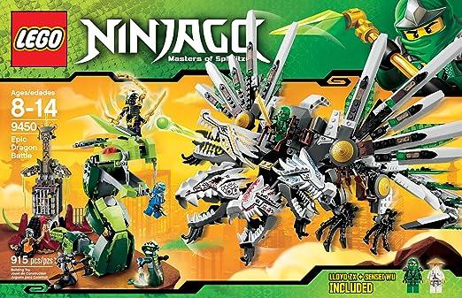Lego Ninjago Dragon LEGO Ninjago 9450 Epic Dragon