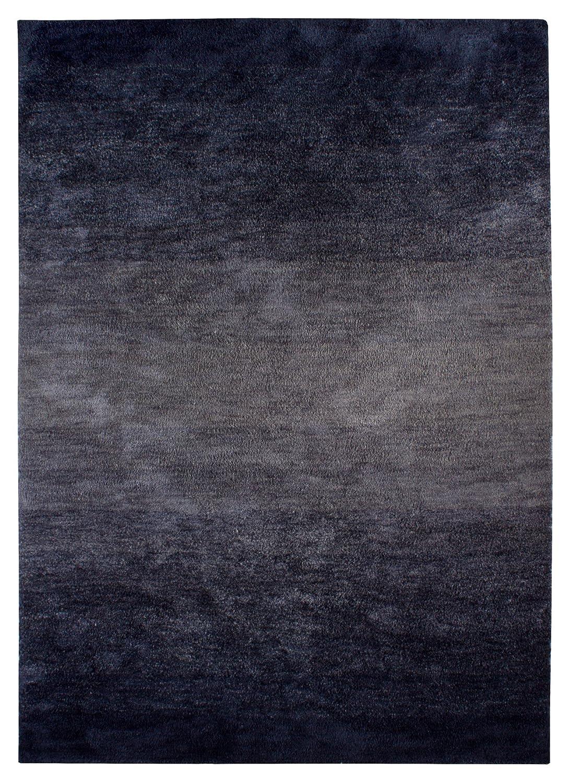 """TEPPICHWELT SONA-LUX Teppich handgetuftet blau """"Größe auswählen"""" 170 x 240 cm"""