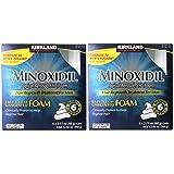 Kirkland Signature Minoxidil Foam for Men, 2 Pack(6 x 2.11 oz) (Color: 6 Bottles X 2)
