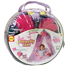 ALEX® Toys - Pretend & Play Butterfly Tent 42B