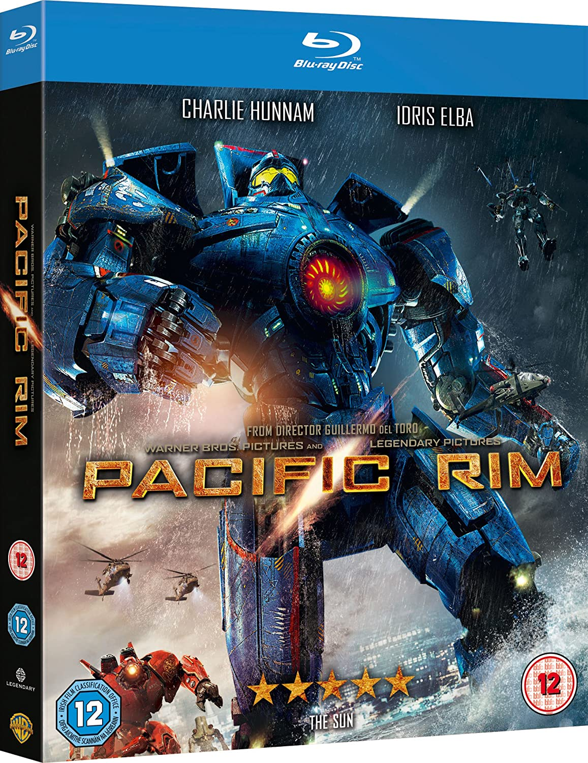Pacific Rim Cover | www.imgkid.com - The Image Kid Has It! Pacific Rim Blu Ray Cover