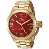 TW Steel Men's Quartz Gold and Stainless Steel Casual Watch, Color:Gold-Toned (Model: CB112)