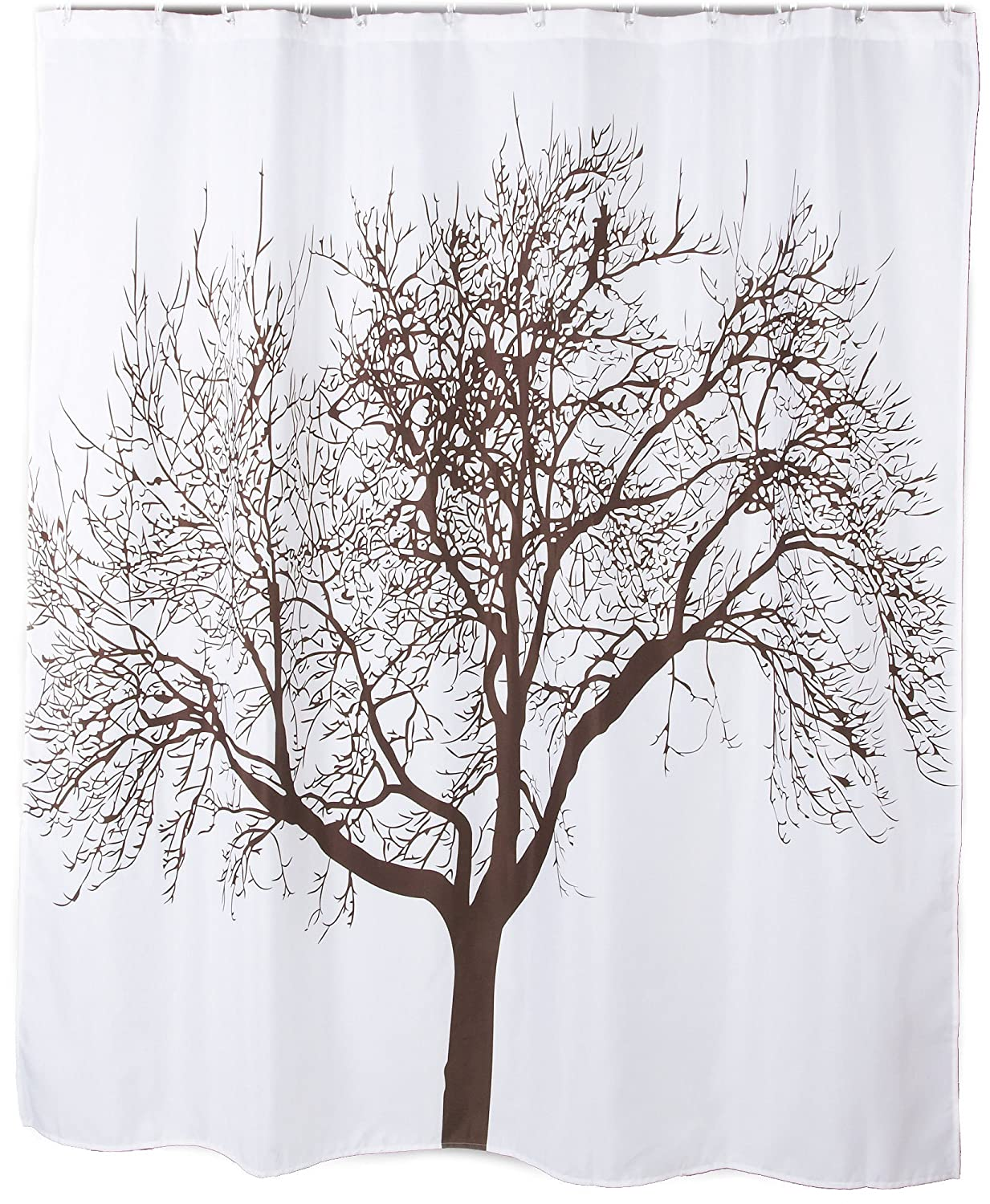 Tree Silhouette Shower Curtain Images