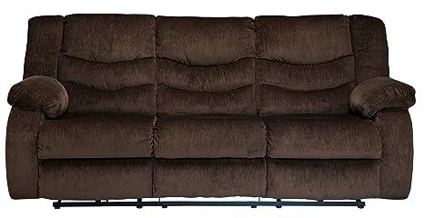 Garek Cocoa D Reclining Sofa
