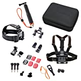 Rollei Protective, Robust, Steady, Waterproof, Outdoor Actioncam Mount Set - Compact, Multicolor (21639)