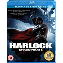 Harlock Space Pirate 2D [Blu-ray]