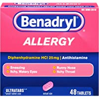 Benadryl Allergy Ultratab Tablets - 48-Count