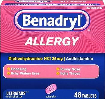 Benadryl Allergy Ultratab Tablets