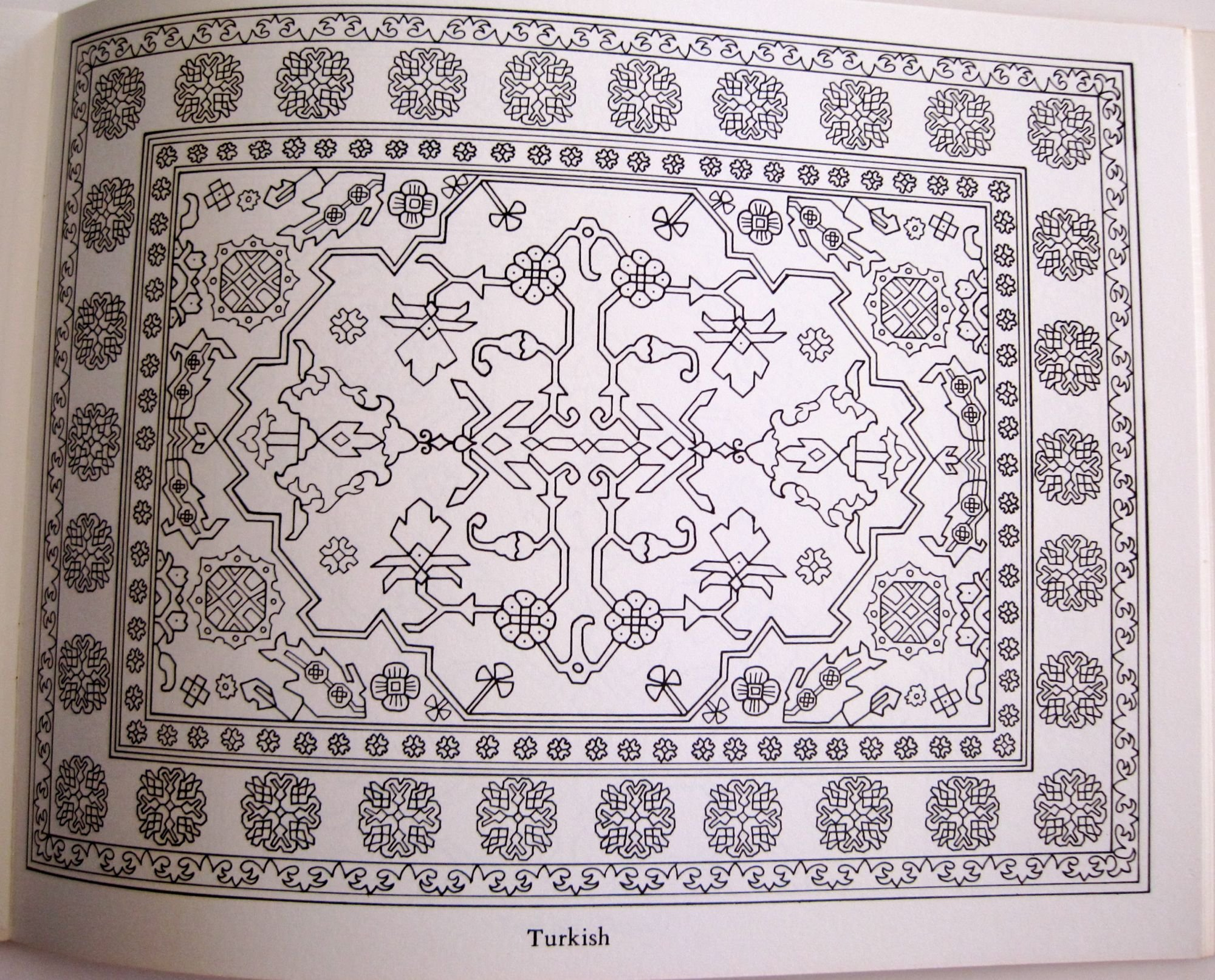 Rug Coloring Page Rug Coloring Page